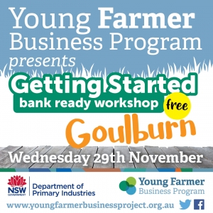 Getting Started-Bank Ready Workshop GOULBURN