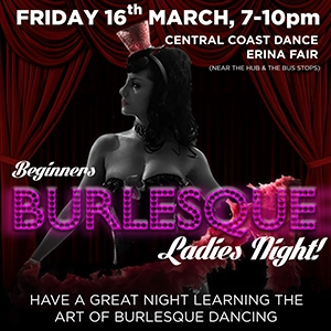 Beginners Burlesque Ladies Night