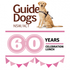 Guide Dogs 60 Years Celebration Lunch