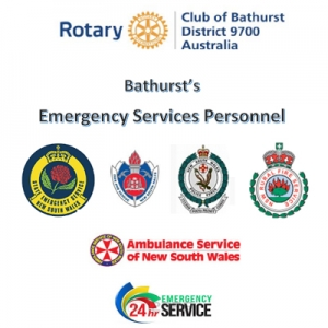 Rotary Club of Bathurst Emergency Services Awards Night