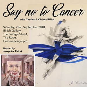 Say NO to Cancer with Charles and Christa Billich Hosted by Josephine Petrak