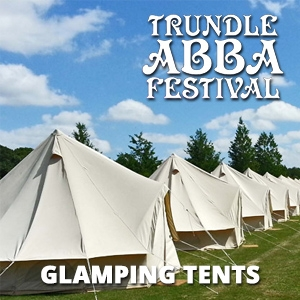 2018 Trundle ABBA Festival GLAMPING TENTS