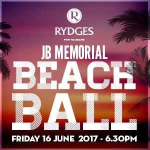 The JB Memorial Beach Ball
